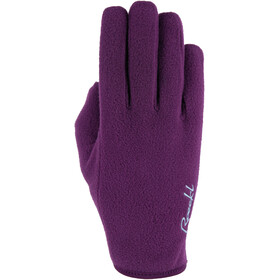 Roeckl Kampen Handschuhe grape